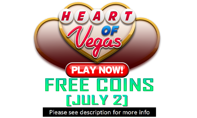 heart of vegas coins 500 000 coins july 2. Black Bedroom Furniture Sets. Home Design Ideas