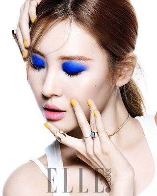 Lim and Sunmi Wonder Girls Elle March 2016