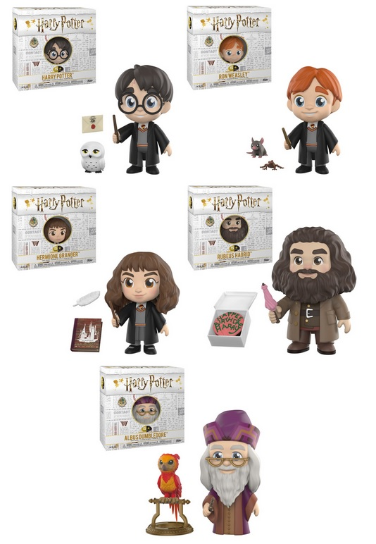 Collecting Toyz 5 Star Harry Potter Vinyl Figures By Funko