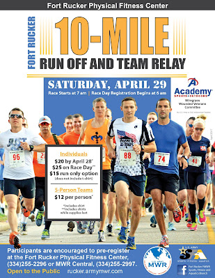 2017 Fort Rucker Ten-Mile Run Off