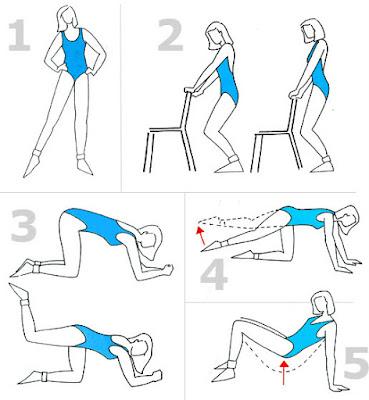 Licuados para eliminar celulitis y ejercicios