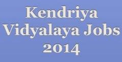 Kendriya Vidyalaya Jobs 2014 image