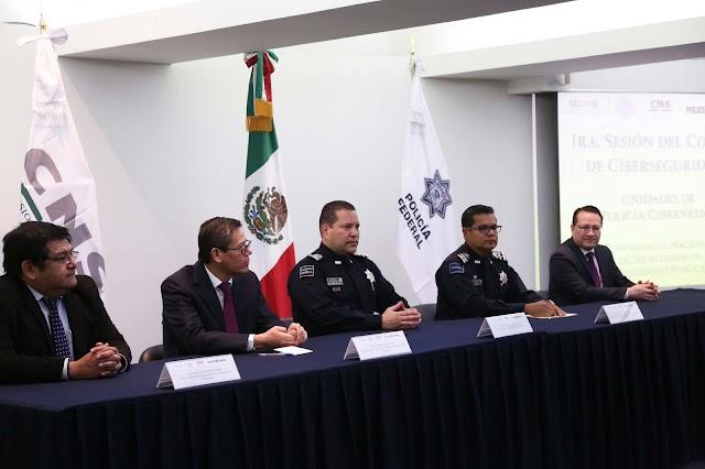REUNE CNS A LAS UNIDADES DE POLICÍA CIBERNÉTICA DEL PAÍS Y REALIZA LA PRIMERA SESIÓN DEL COMITÉ DE CIBERSEGURIDAD