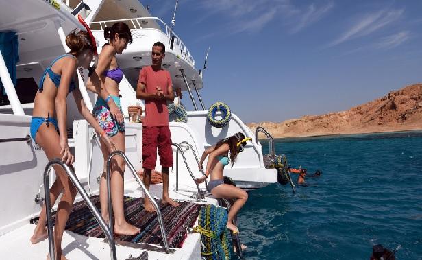 السياح الروس فى شرم الشيخ