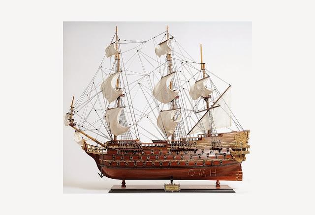 1765 Roayl Navy Gunship Saint Esprit
