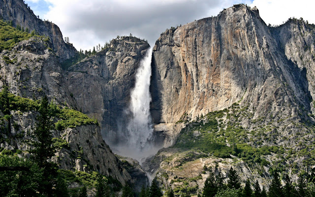 waterfall_yosemite_national_park