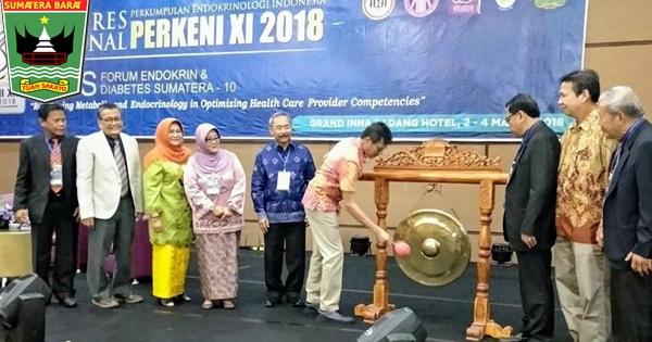 Gubernur Irwan Membuka Kongres Perkeni XI