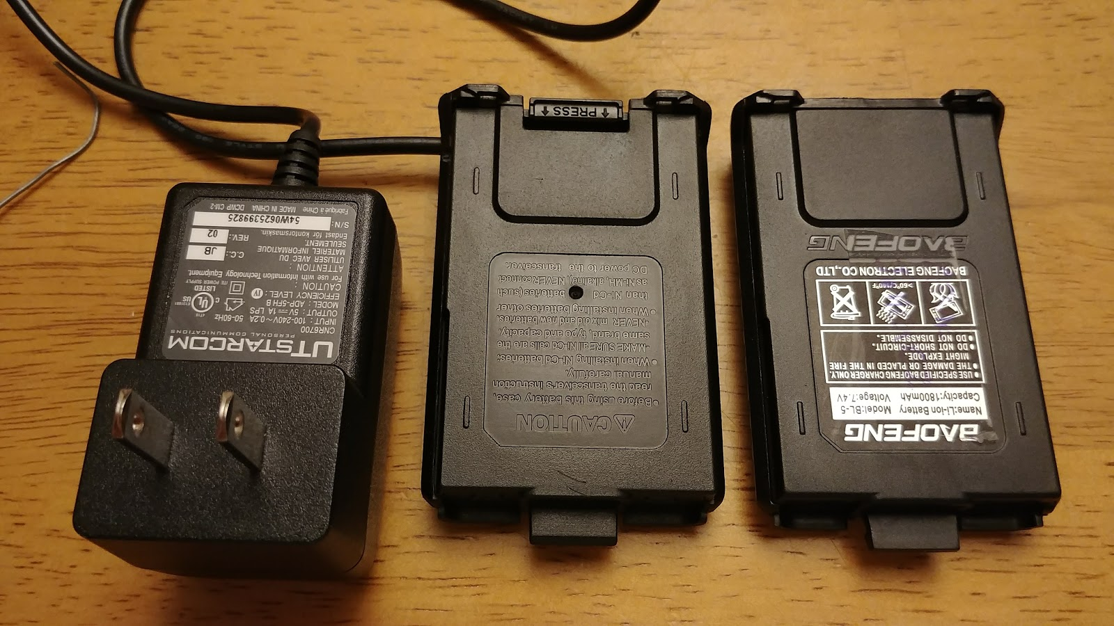 Baofeng UV-5R external power mod | Internet Tablets and MID