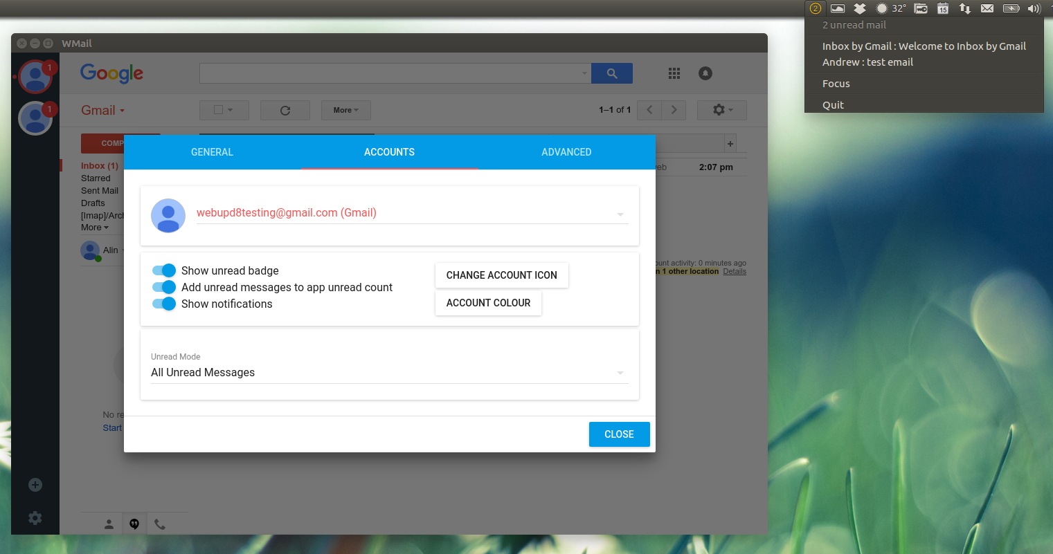 Wmail Is A Nice Desktop App For Gmail And Google Inbox With Multi ...