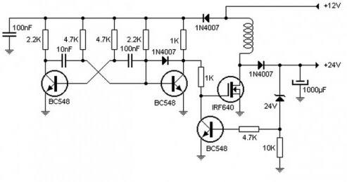 DC Converter DC 12V to 24V Circuit Diagram ~ Circuit
