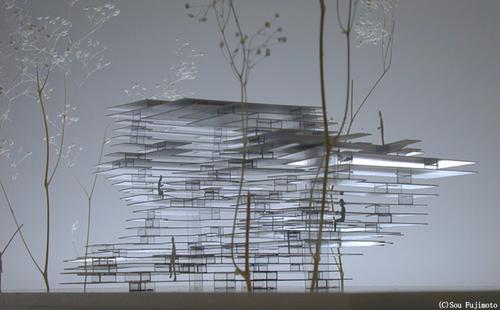 建築は模型も面白い。想像力溢れるクリエイティブな模型。9つ【Architecture】 Primitive Future House
