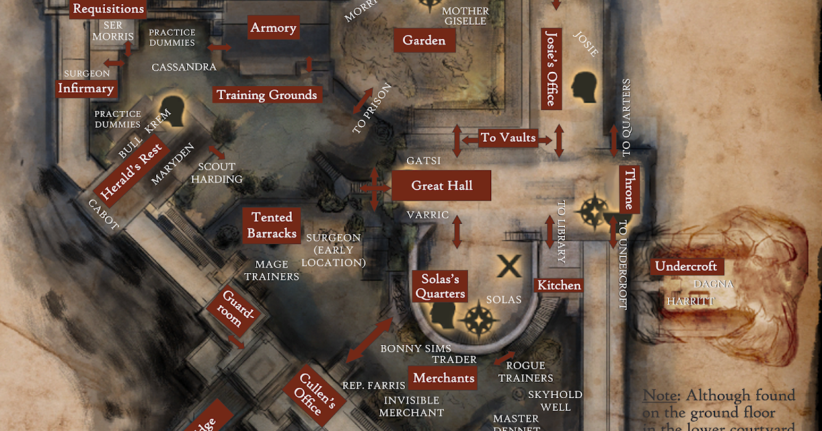 Dumped, Drunk and Dalish: Your Ultimate Map to Dragon Age ...