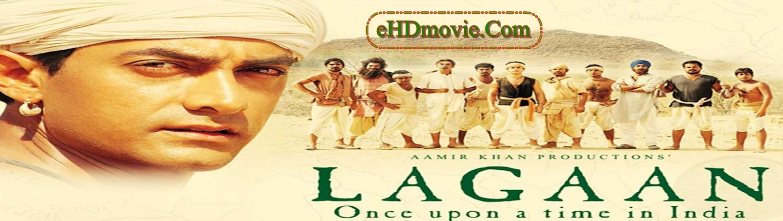 Lagaan: Once Upon a Time in India 2001 Full Movie Hindi 1080p - 720p - 480p ORG BRRip 450MB - 1GB - 2GB ESubs Free Download
