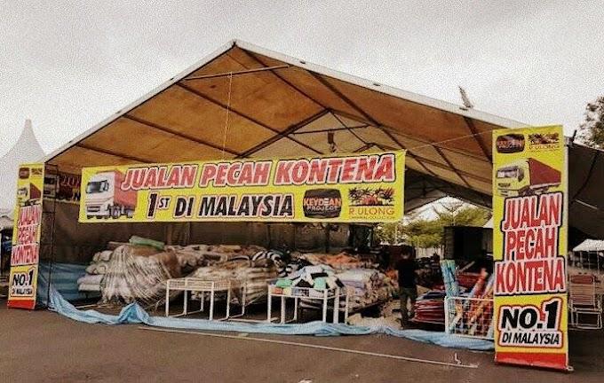 Jualan Pecah Kontena No 1 Di Malaysia