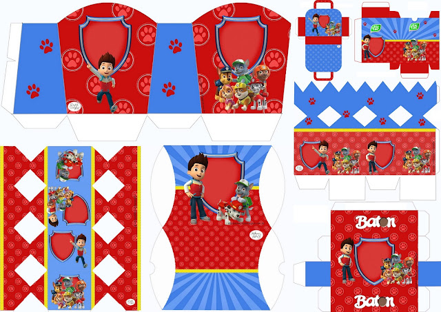 0 Birthday Boxes Free Printables Party Favors Invitations Paw Patrol Souvenirs Friday June 16 2017 A Print Email