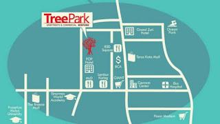 Alamat Peta Lokasi Dijual Apartemen Tree Park Serpong Tangeran www.rumah-hook.com