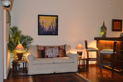Artistic Touch to Festive Decor by Nalini Malaviya, Art in Interiors, Art Scene India