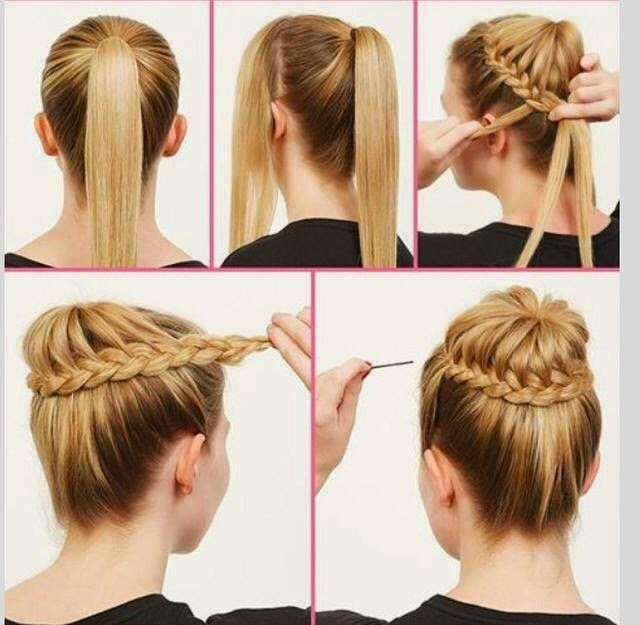 Stupendous Cute Bun Hairstyle Tutorials Dashingamrit Hairstyles For Men Maxibearus