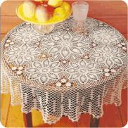 "Mantel ""Galaxia"" a Crochet"