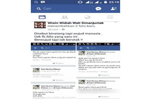 Ternyata Oh Ternyata, Penghina Islam di FB Ternyata Anak Anggota DPRD