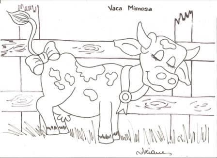 Ariane Cerveira Desenhos Da Vaca Mimosa Galinha Florisbela E