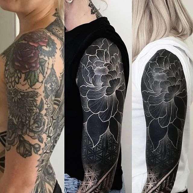 Un tatuaje para cubrir otro tatuaje
