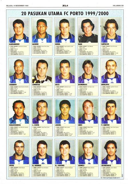 FC PORTO SQUAD 1999/2000