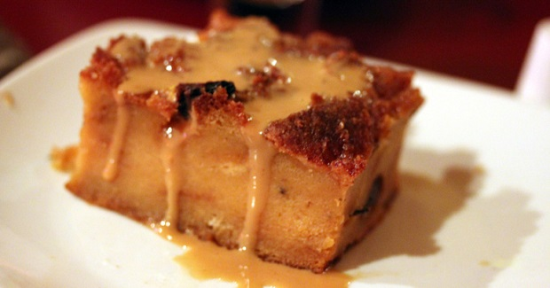Norwegian Cruise Line's Warm Bread Pudding With Caramel Sauce Recipe
