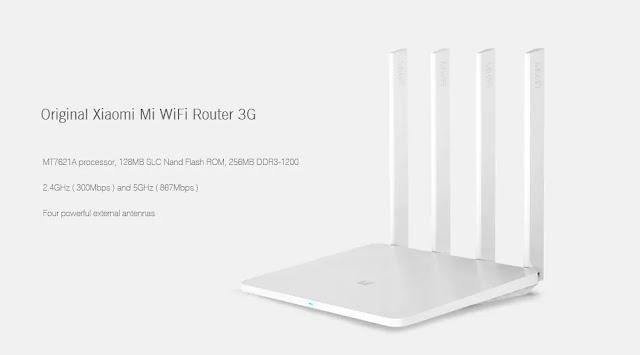 Coupon Original Xiaomi WiFi Router 3G