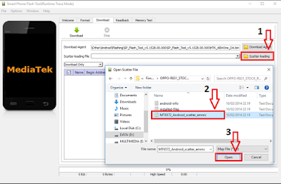 Cara Flashing Ulang Hp Oppo A37F Dengan Menggunakan PC