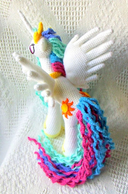 Princess Celestia My Little Pony Free Crochet Pattern Amvabe Crochet