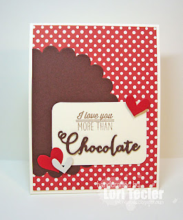 I Love You More Than Chocolate card-designed by Lori Tecler/Inking Aloud-stamps from Verve Stamps
