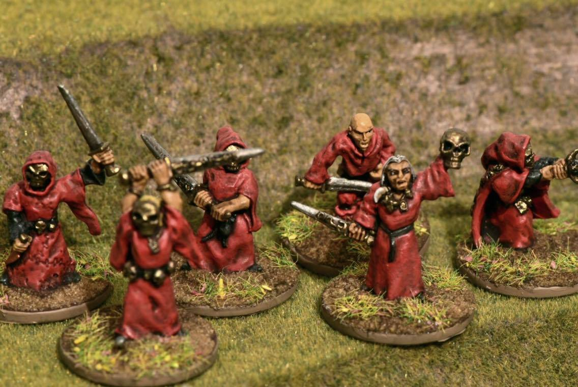 Dispatches from the front: 15mm Fantasy(I) - The Undead