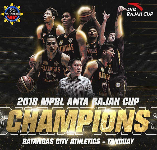 Maharlika Pilipinas Rajah Cup 2018 Results, Stats & Replay Video - Batangas City Athletics - Inaugural Champions
