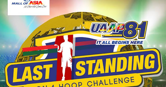 UAAP Season 81 holds pre-season event, 'The Last One Standing' at SM Mall of Asia