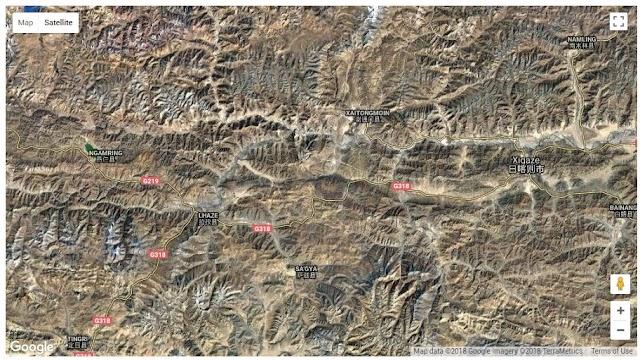 Gempa Sedang Western Xizang Myanmar