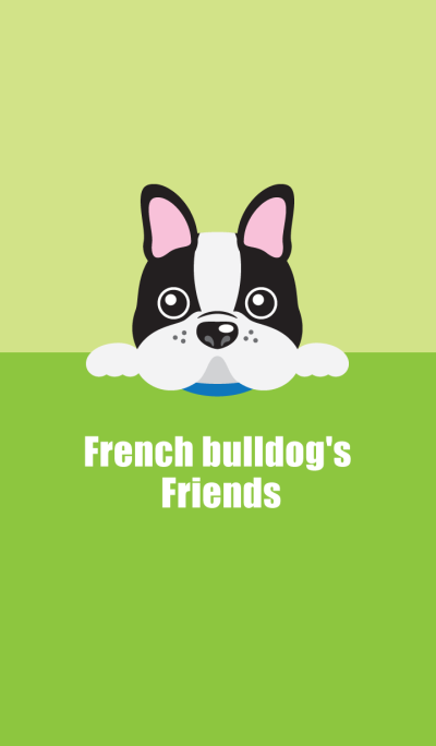 French bulldog's Friends