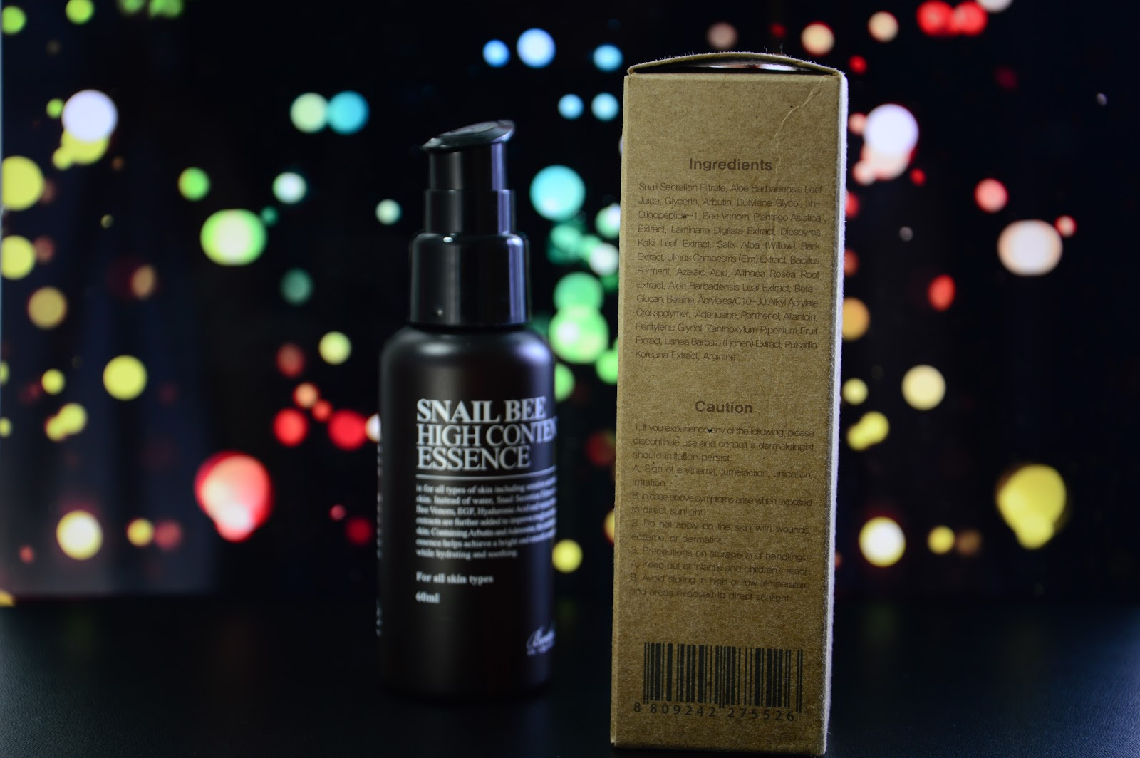 benton snail bee high content essence review