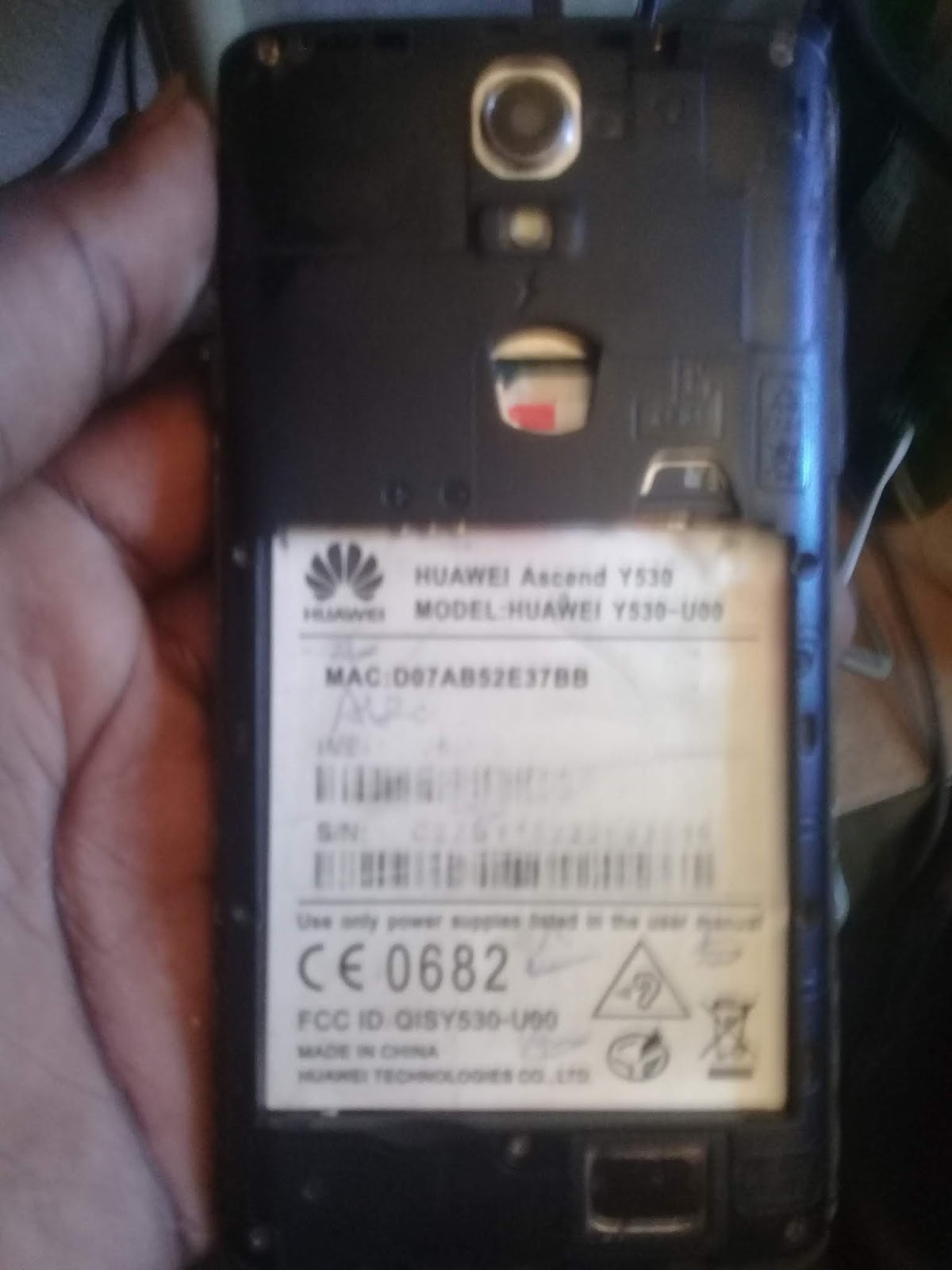HUAWEI Y530 U00 CLONE MT6572 FIRMWARE FLASH FILE FREE