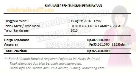 Pinjaman-365-1THN-TOYOTA.CAMRY.G24AT 2015