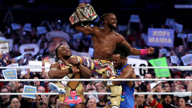 Antigo escritor da WWE revela os planos originais para o reinado mundial de Kofi Kingston