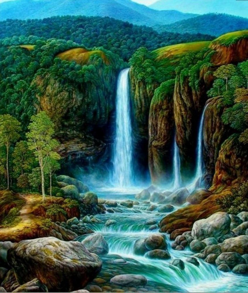 Im genes arte pinturas pinturas de selvas tropicales - Los cuadros mas bonitos ...