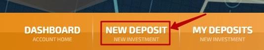 Создание депозита в FunDup