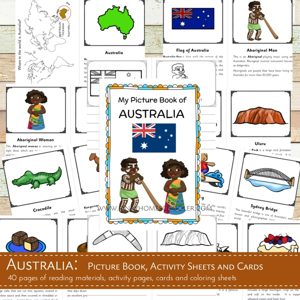 Australia Country Study Learning Pack