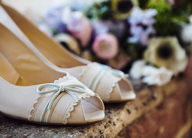 zapatos de novia para playa