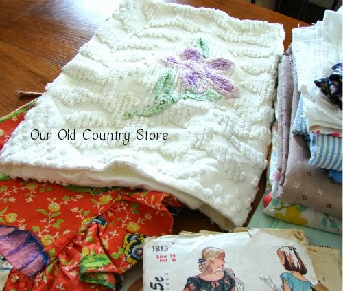 Our Old Country Store: Old Fashioned Rummage Sale Finds