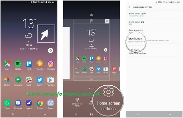 Cara Mengembalikan Semua Tombol Aplikasi pada Samsung Galaxy S8