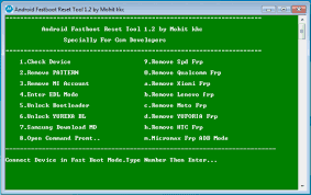 Android Fastboot Reset Tool V1.2 Free Download