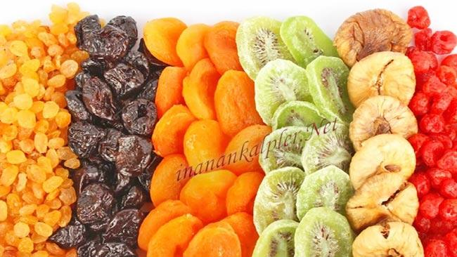 Kurutulmuş Meyveler - www.inanankalpler.net