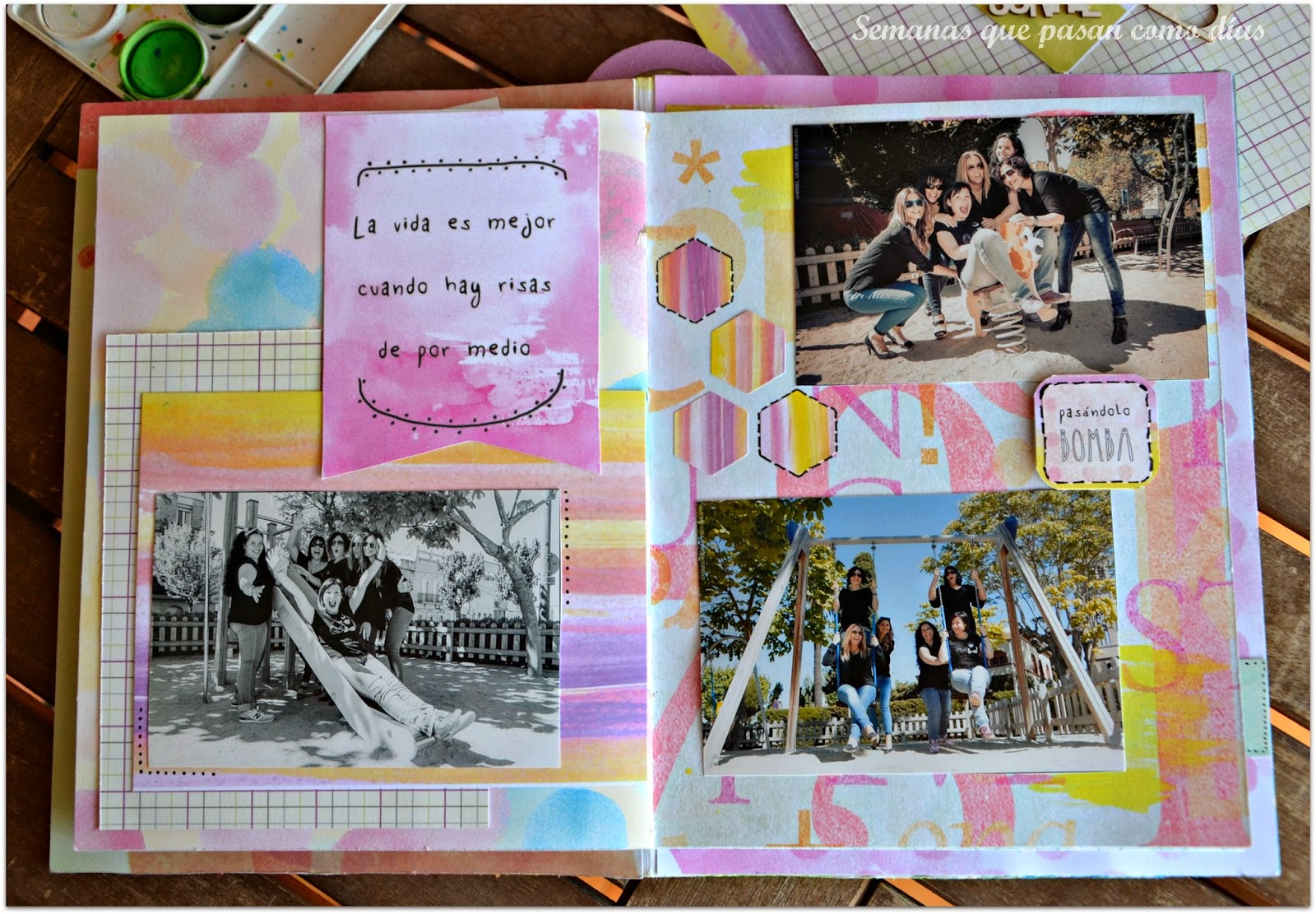 Decorar Album Scrap Ideas Para Decorar Un Album Con Scrapbooking Semanas Que
